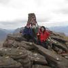 The girls on the top of Sgurr Mor, Beinn Alligin