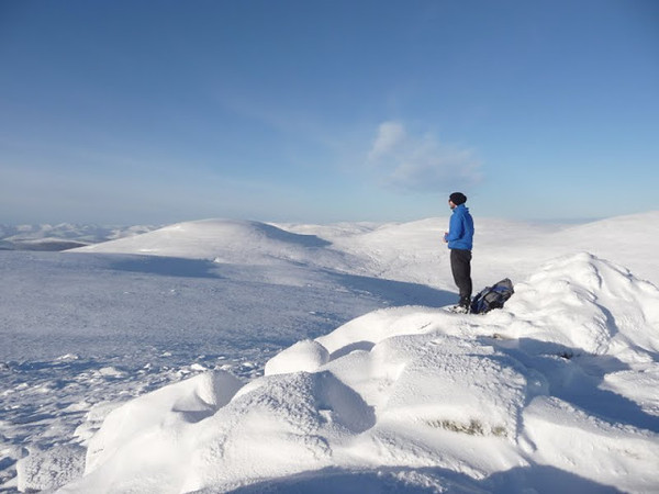 Cairn Bannoch summit
