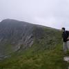 Gordy on Stob Coire an Albannaich, Glen Etive