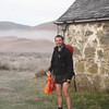 Dom in his running gear, before running 32km to take in 5 Munros and 1 Corbett in the Glen Carron area!