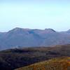 Distant Slioch from Beinn Tharsuinn
