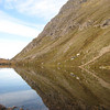 Reflection in lochan on Slioch