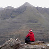 John looks over to Liathach from Beinn Dearg