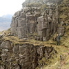 The Traverse round the pinnacles on Liathach