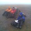 The dull summit of Mullach Clach a'Bhlair