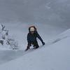 Neil climbing on Carn Etchachan.