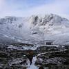 Hutcheson Memorial Hut below Creagan a'Choire Etchachan