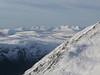 Distant Torridonian hills of Liathach and Beinn Eighe, from Meallan nan Uan