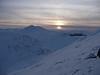 Sunset as we came off Sgurr a'Mhuilinn
