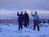 Snow balls on Beinn a'Chrulaiste