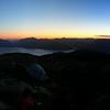 Loch Linnhe and Ardgour from Beinn a'Bheithir at summer solstice