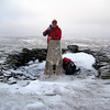 John at the top of Carn an Fhreiceadain