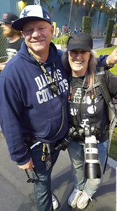 With John L. Reese at Musink 2017, Cosat Mesa, CA.