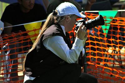 Shooting the 2010 NARA French Ring Western Zone  Regional Championship in Valley Center [San Diego], CA. Photo by Elizabeth Koenig.