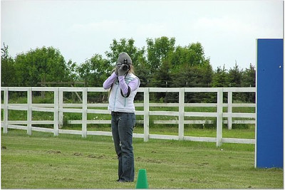 Shooting the 2006 Cup of Americas French Ring trial in Chicago, IL. Photo by Brian Branon
