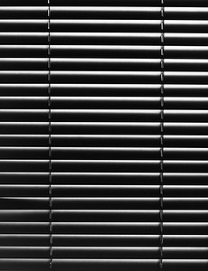 Blinds closeup
