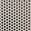 Background of white steel metal with circle perforated holes
