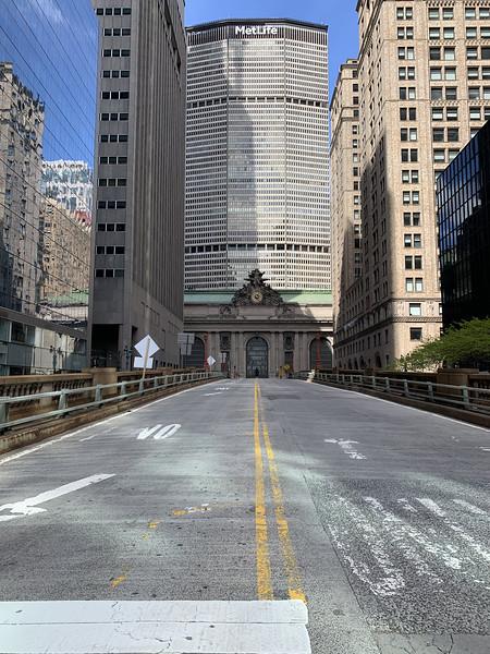 Pandemic Midtown Manhattan