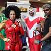 Misty Knight, Falcon, and Luke Cage