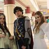 Arwen Undomiel, Aragorn, and Galadriel