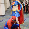 Spider-Man and Supergirl