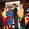 Arsenal, Kid Flash, Superman, Superboy, Aquaman, and Robin