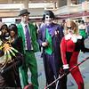 Scarecrow, Catwoman, Riddler, Joker, and Harley Quinn