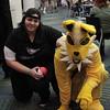 Pokemon Trainer and Jolteon