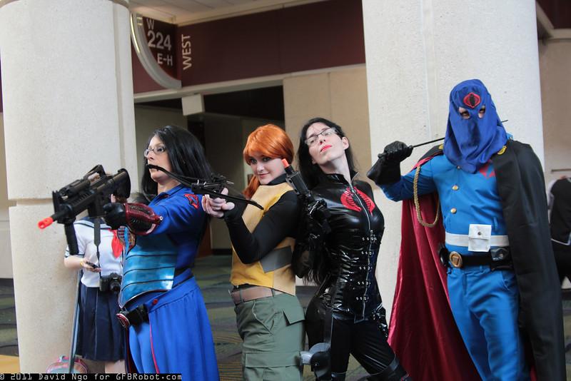 Baronesses, Scarlett, and Cobra Commander