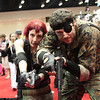 Meryl Silverburgh and Naked Snake