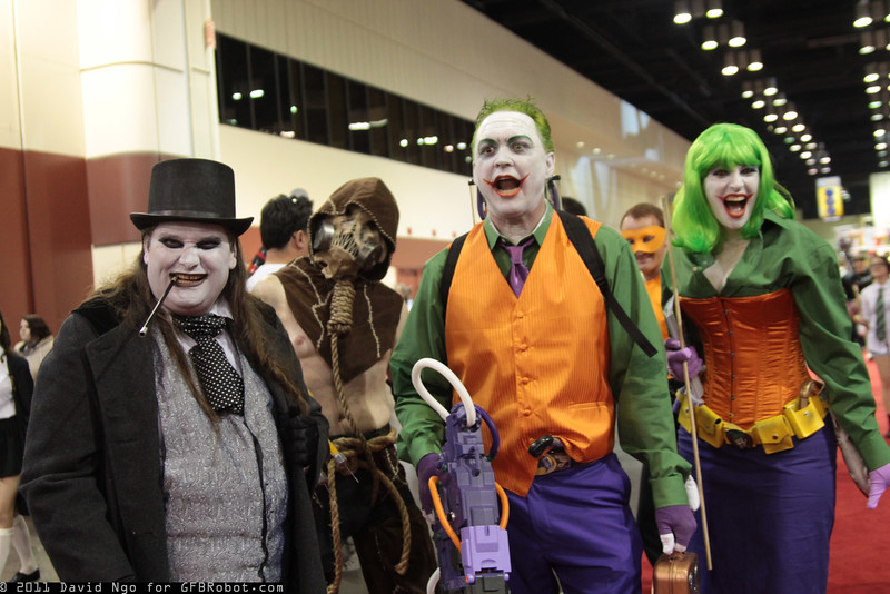 Penguin, Scarecrow, and Jokers