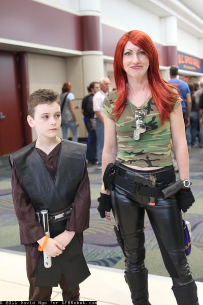Anakin Skywalker and Scarlett