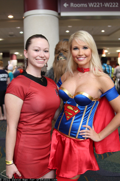 Red Shirt and Supergirl