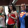 Arisia Rrab, Wonder Woman, and Superman