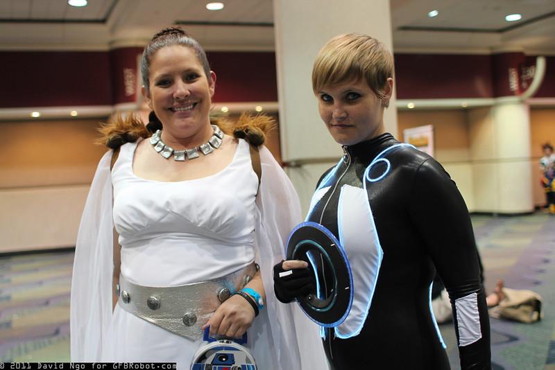 Princess Leia Organa and Quorra