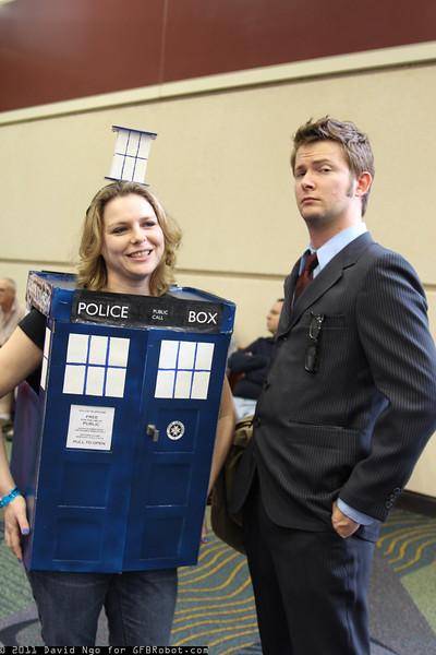 TARDIS and Doctor Who