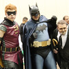 Robin, Batman, and Penguin