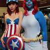 Captain America and Mystique