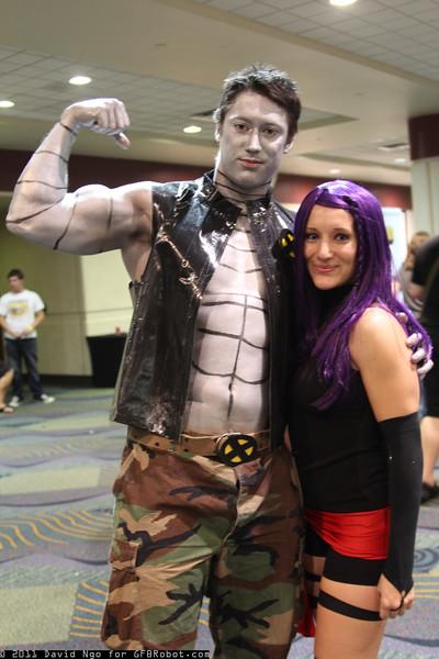 Colossus and Psylocke