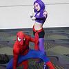 Spider-Man and Psylocke