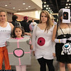 Chell, Companion Cube, ATLAS, Emotion Core, GLaDOS, and Intelligence Core