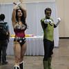 Wonder Woman and Green Lantern