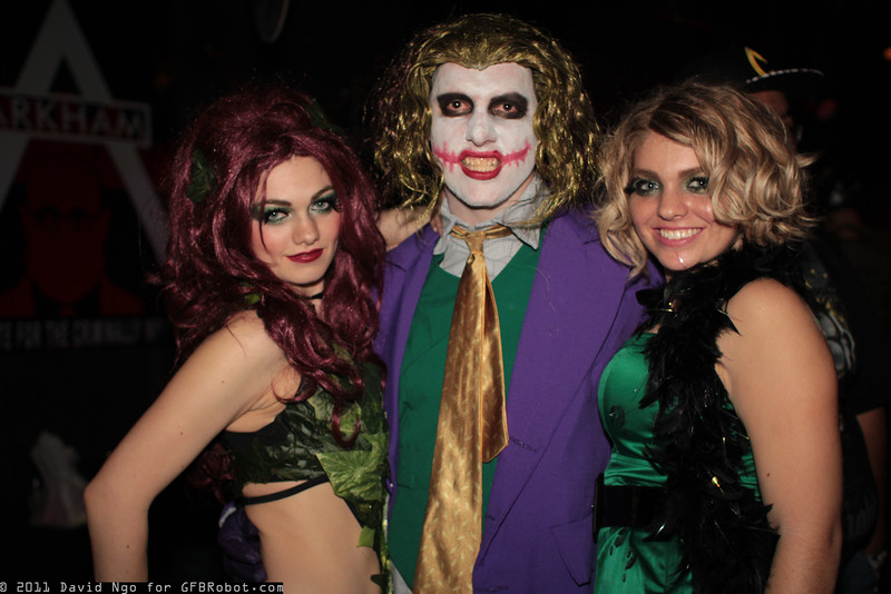 Poison Ivy, Joker, and Sugar