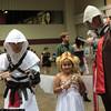 Altair Ibn-La'Ahad, Princess Serenity, and Ezio Auditore da Firenze