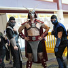 Reptile, Smoke, Shao Kahn, Sub-Zero, and Scorpion