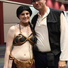 Princess Leia Organa and Han Solo