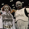 Zombie Princess Leia Organa and Zombie Stormtrooper