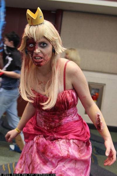 Zombie Princess Peach