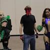 Green Arrow, Grifter, and Starfire