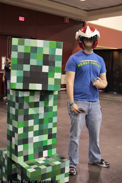 Creeper and Proto Man